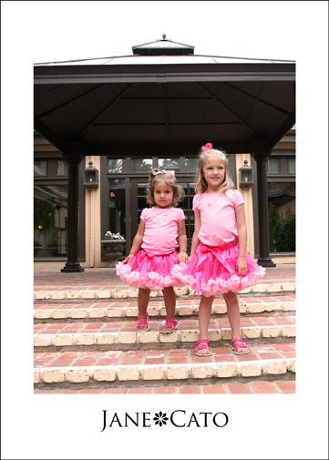 Flower Girls Pink Tutus