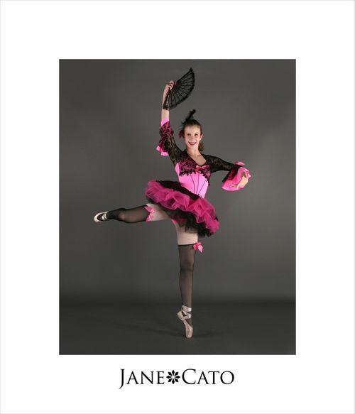 Pink Pointe Ballet Recital Black