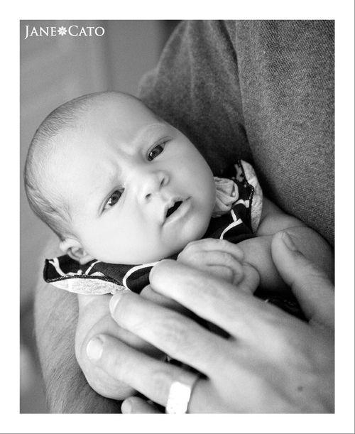 Dad Newborn Daughter