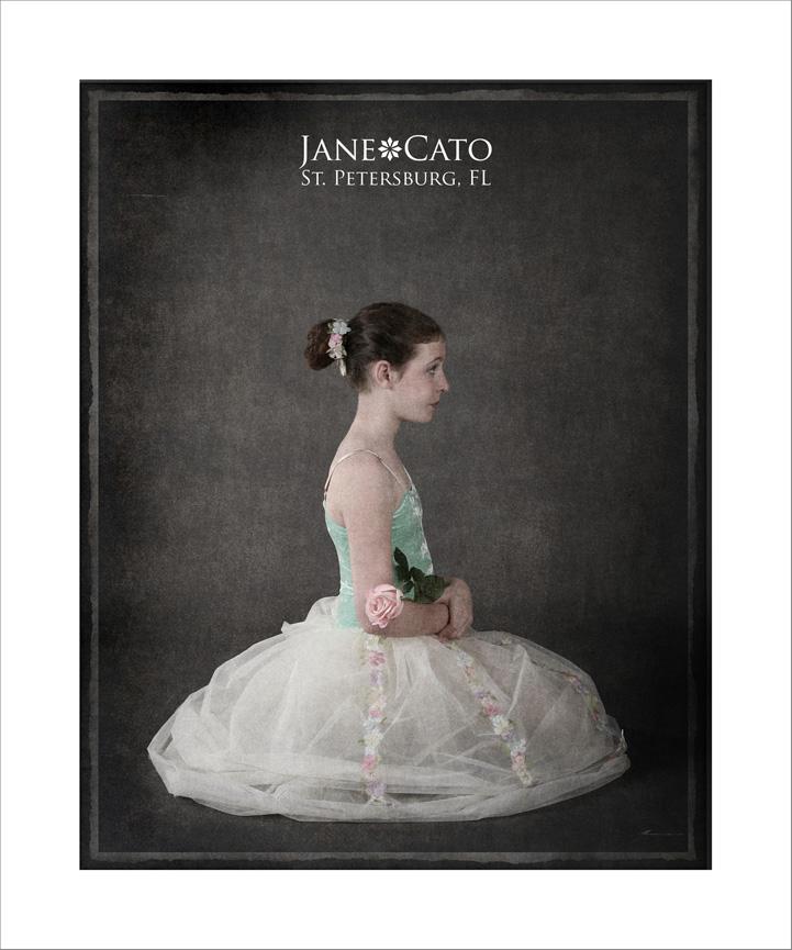 Jane Cato Seated Ballerina 2