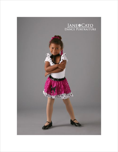 Tap Dance Pose Kid Jane Cato 12
