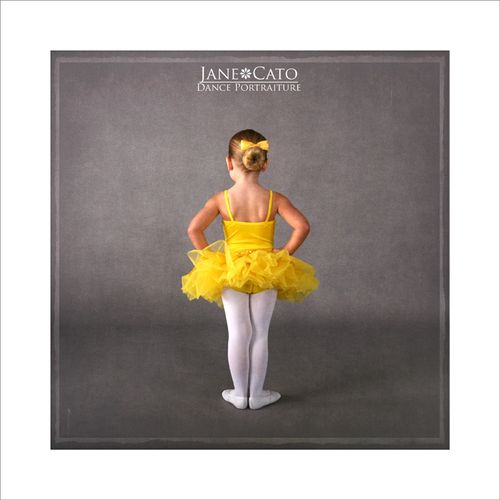 Yellow Tutu Ballerina Girl Cato