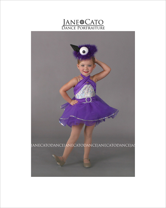 Dance Child Tap Purple Costume
