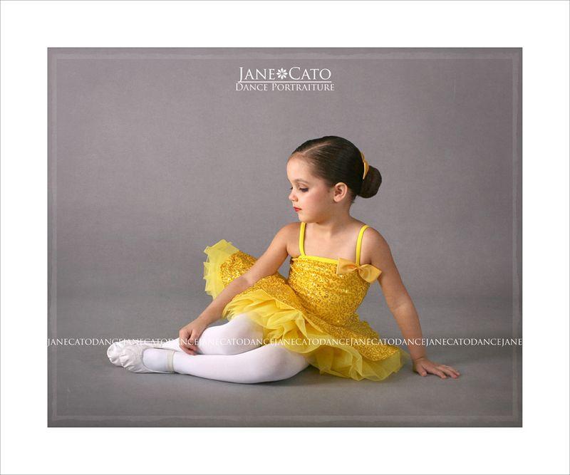 Dance Tutu Ballet Ballerina Yellow