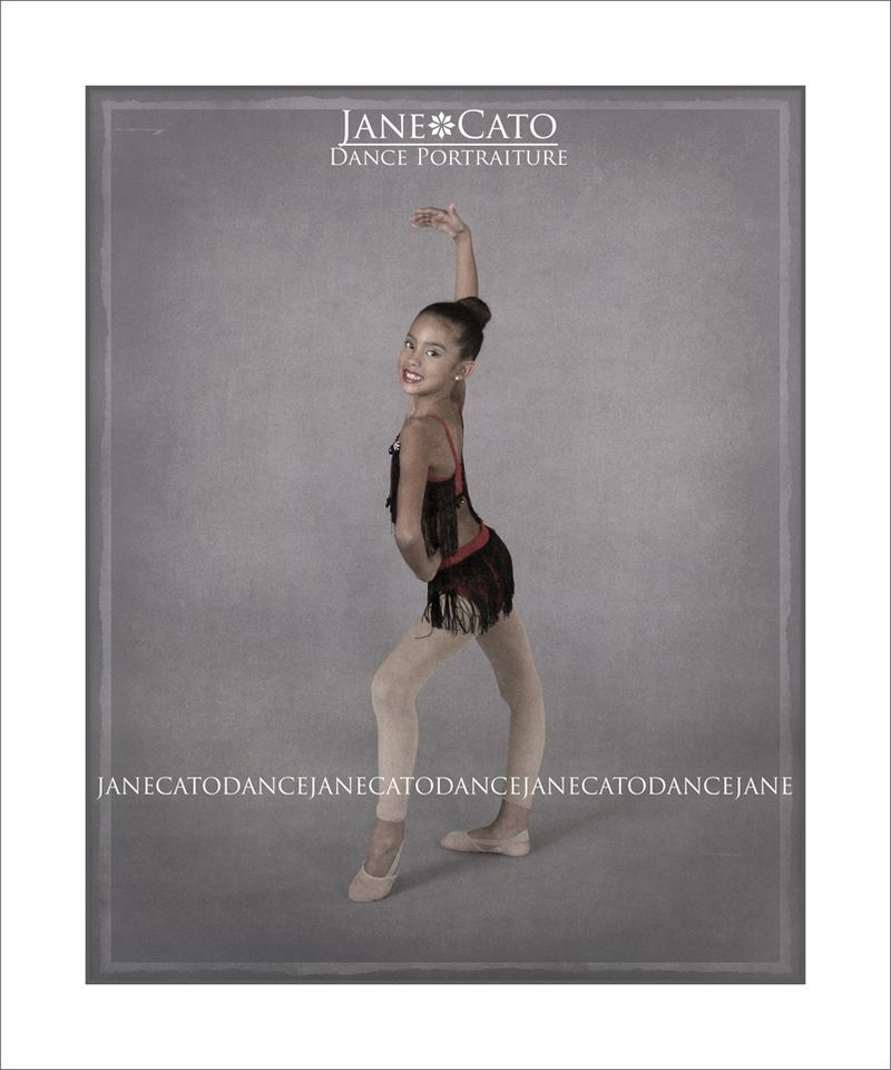Dance Jazz Pose Standing Own Cato