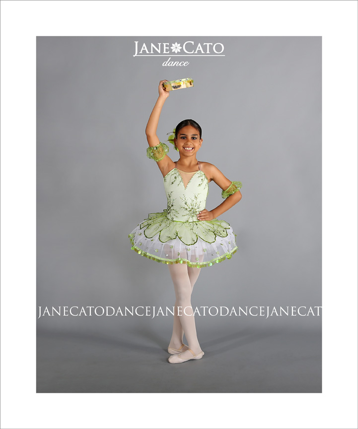 Child Ballerina Standing Pose Cato