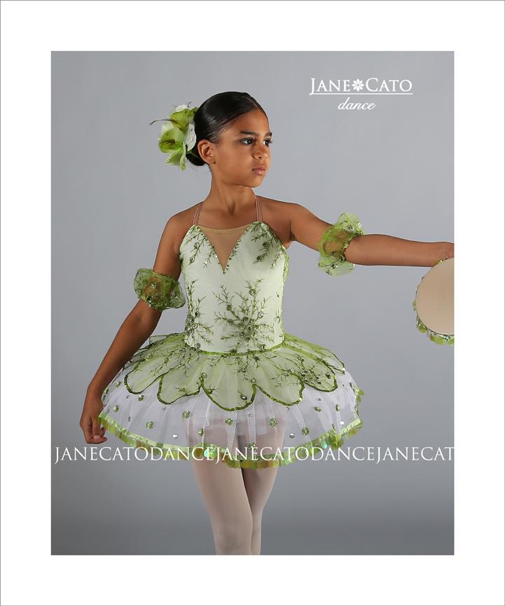 Ballerina Tutu Tambourine Cato