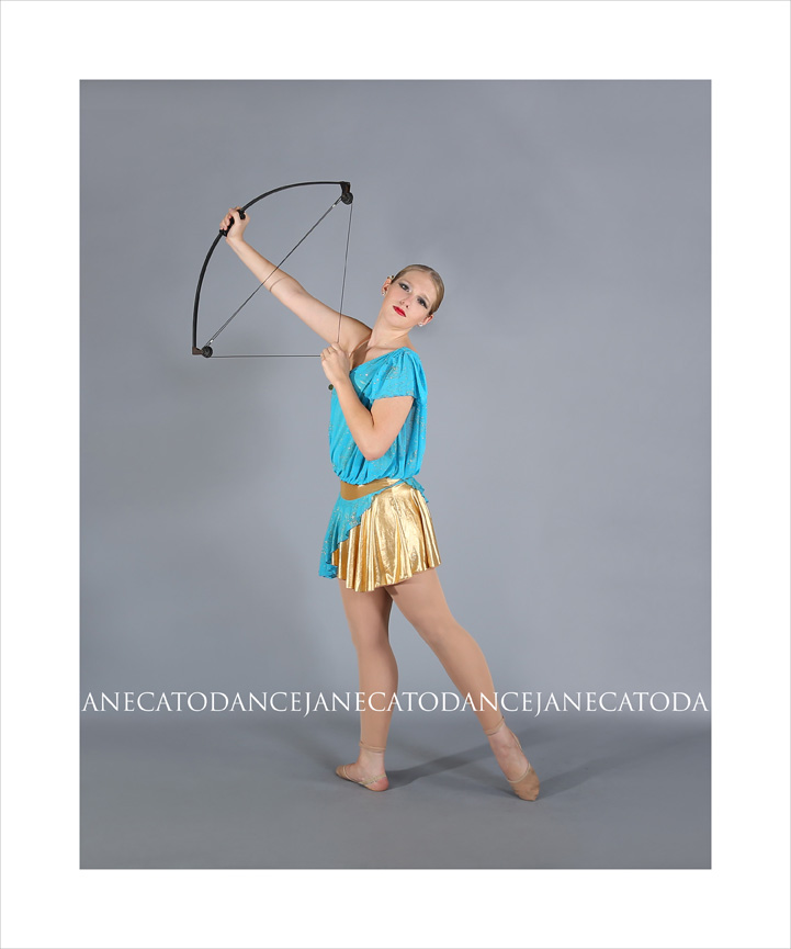 JaneCatoDanceHunterBow