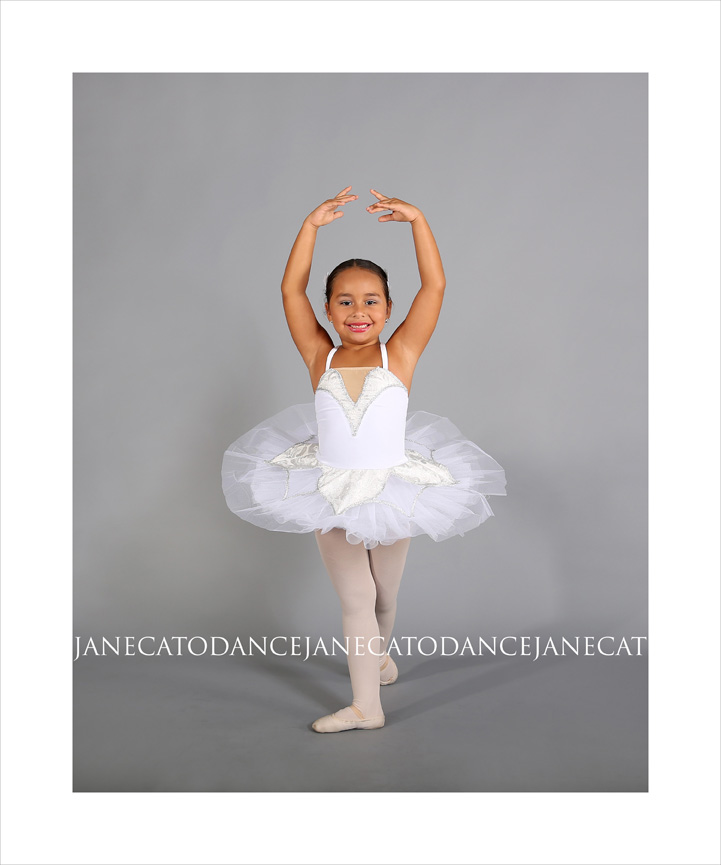 Jane Cato White Tutu Young Dancer